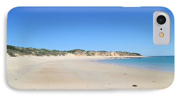 IPhone Case featuring the photograph Australian Beach by Tony Mathews