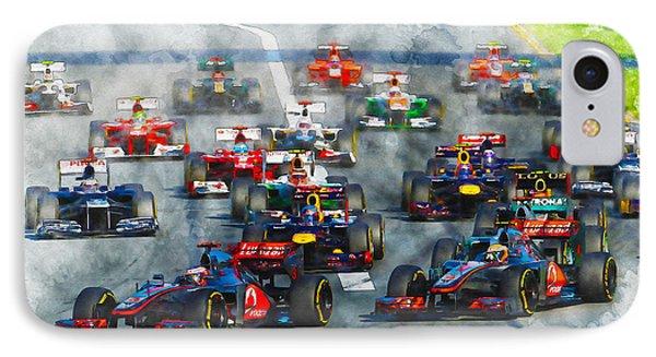 Australian Grand Prix F1 2012 IPhone Case