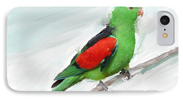 Australian Parrot IPhone Case by Zilpa Van der Gragt