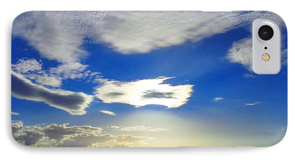 IPhone Case featuring the photograph Australian Sommer Sky by Ute Posegga-Rudel