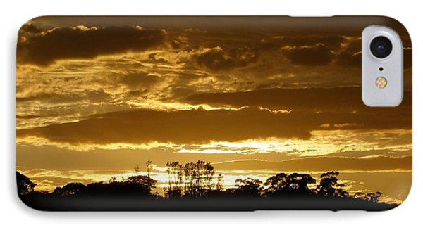 Australian Sunrise IPhone Case by Bev Conover