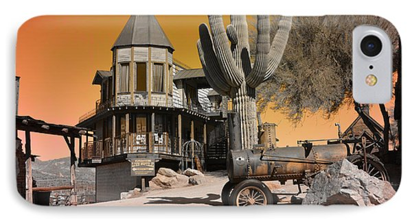 Authentic Ghost Town Phone Case by Beverly Guilliams