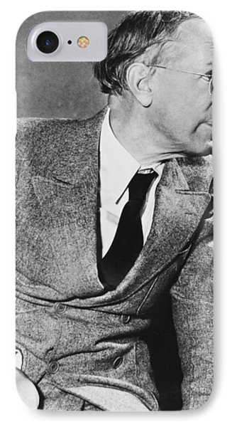 Author Upton Sinclair IPhone Case