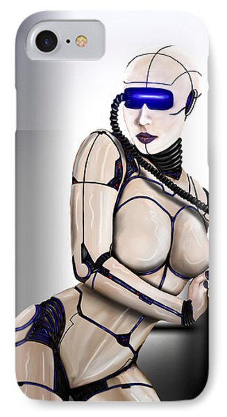 IPhone Case featuring the digital art Automation by Jeremy Martinson