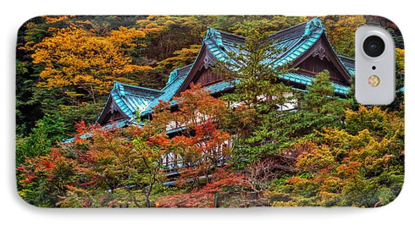 IPhone Case featuring the photograph Autum In Japan by John Swartz
