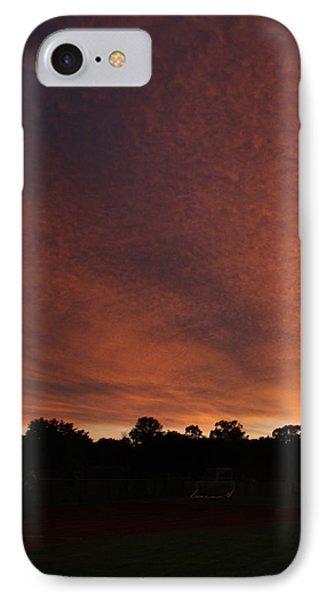 Autum Sunset IPhone Case by Mustafa Abdullah