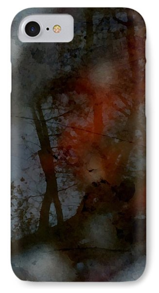 IPhone Case featuring the photograph Autumn Abstract by Photographic Arts And Design Studio