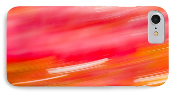 Autumn Abstract Phone Case by Shane Holsclaw