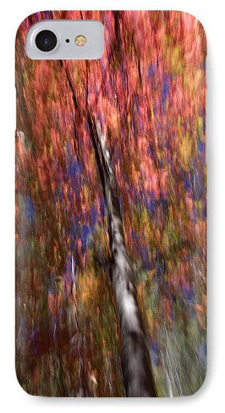 Autumn Abstract IPhone Case by Sue Cullumber