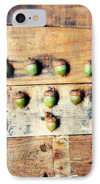 Autumn Acorns IPhone Case