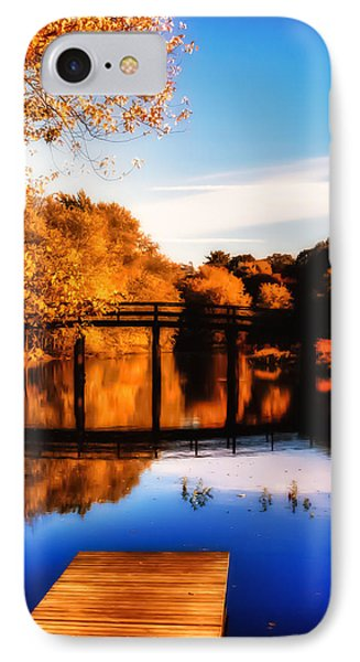 Autumn Afternoon Wears On IPhone Case by Jeff Folger