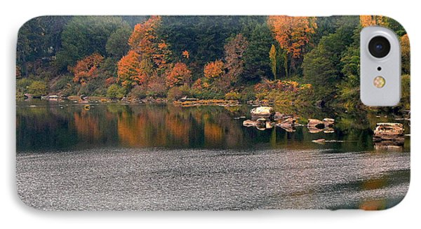 Autumn Along The Umpqua IPhone Case by Suzy Piatt