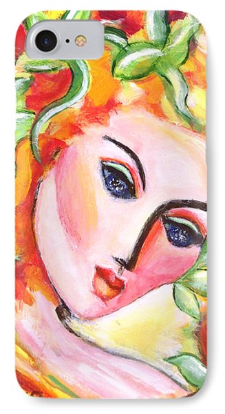 IPhone Case featuring the painting Autumn by Anya Heller