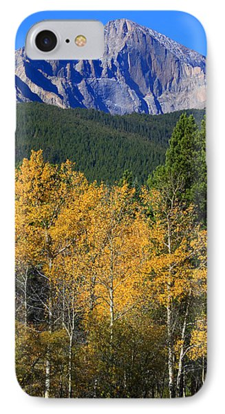 Autumn Aspens And Longs Peak IPhone Case by James BO  Insogna