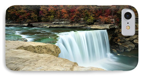 Autumn At Cumberland Falls IPhone Case by Jaki Miller
