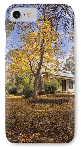 IPhone Case featuring the photograph Autumn At Daylesford by Kim Andelkovic