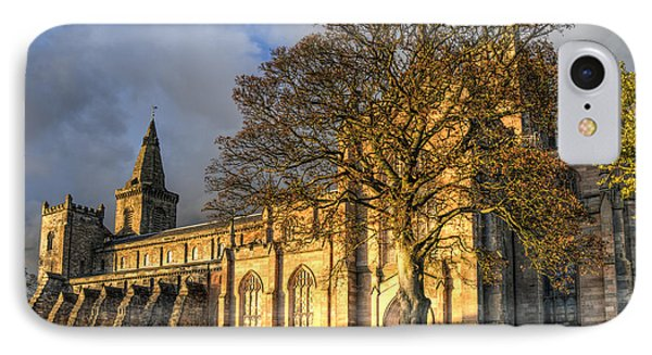 Autumn At Dunfermline Abbey IPhone Case by Ross G Strachan