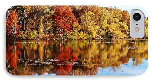 Autumn At Horn Pond IPhone Case by Joe Faherty