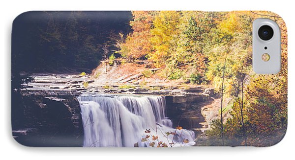 Autumn At Letchworth IPhone Case by Sara Frank
