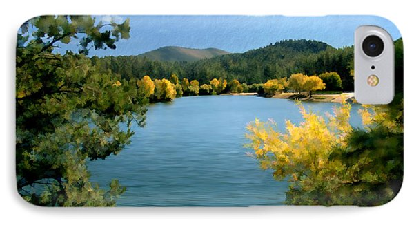 Autumn At Lynx Lake IPhone Case by Kurt Van Wagner