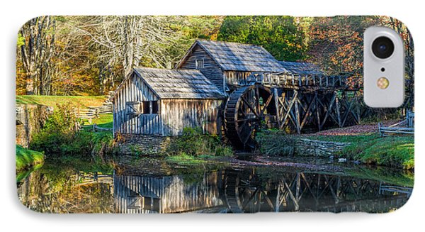 Autumn At Mabry Mill IPhone Case by Lori Coleman