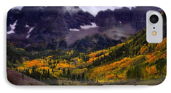 IPhone Case featuring the photograph Autumn At Maroon Bells by Ellen Heaverlo