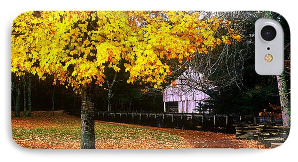 IPhone Case featuring the photograph Autumn At Old Mill by Rodney Lee Williams
