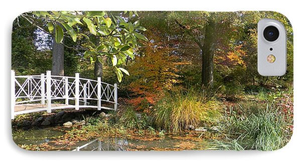 Autumn At Sayen Gardens IPhone Case by Nance Larson