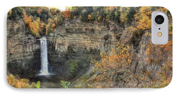 Autumn At Taughannock Falls IPhone Case by Lori Deiter