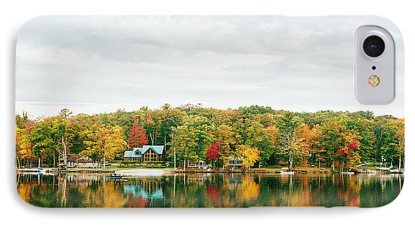 Autumn At The Lake - Pocono Mountains IPhone Case by Vivienne Gucwa