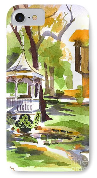 Autumn At The Rectory Phone Case by Kip DeVore
