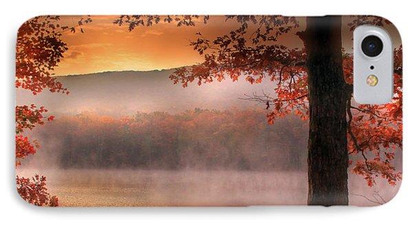 Autumn Atmosphere Phone Case by Lori Deiter