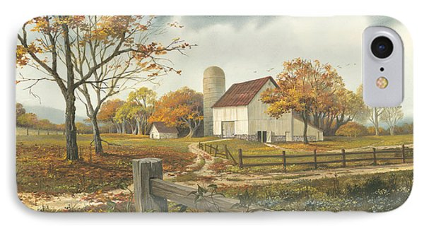 Autumn Barn IPhone Case