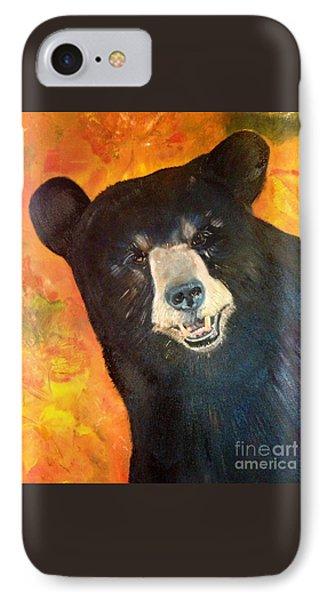 Autumn Bear IPhone Case by Jan Dappen