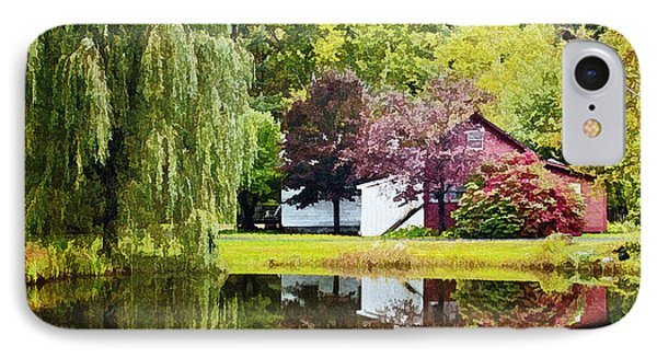 Autumn Beauty At Weston Vermont IPhone Case by Priscilla Burgers