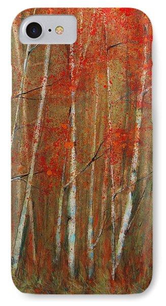 Autumn Birch IPhone Case by Jani Freimann