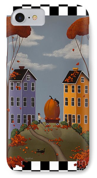 Autumn Blaze IPhone Case by Catherine Holman