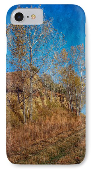 Autumn Bluff Painted IPhone Case by Nikolyn McDonald