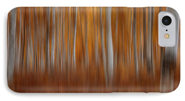 Autumn Blur IPhone Case by Darlene Bushue