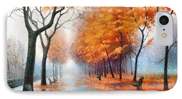 Autumn Boulevard IPhone Case