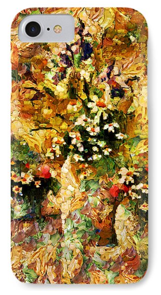 Autumn Bounty - Abstract Expressionism IPhone Case by Georgiana Romanovna