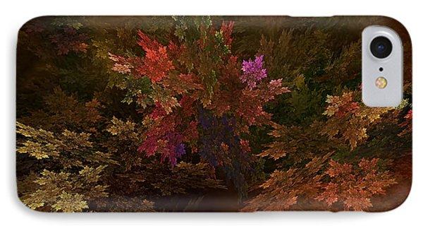 IPhone Case featuring the digital art Autumn Bouquet by Olga Hamilton
