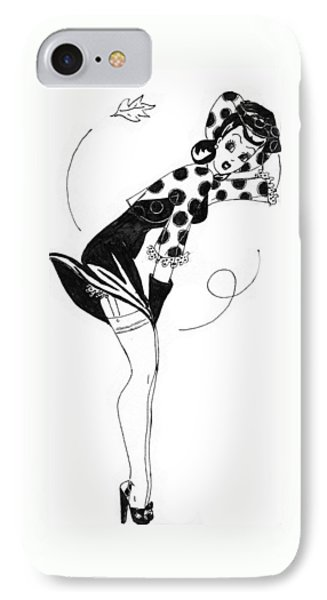Autumn Breeze Phone Case by Beverly Solomon Design