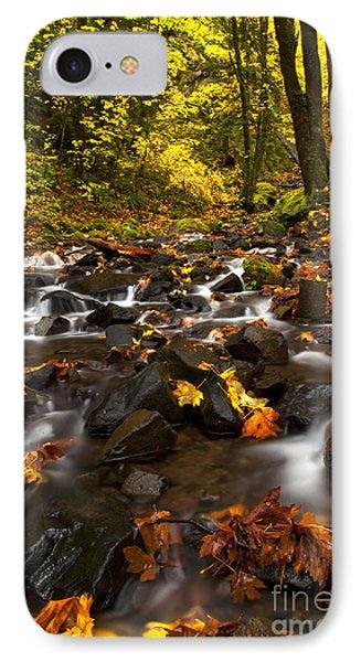 Autumn Breeze Phone Case by Mike  Dawson