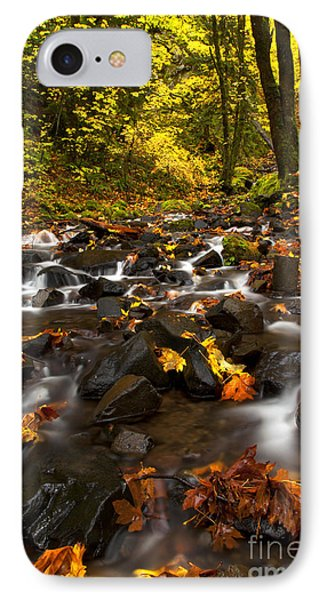 Autumn Breeze IPhone Case by Mike  Dawson
