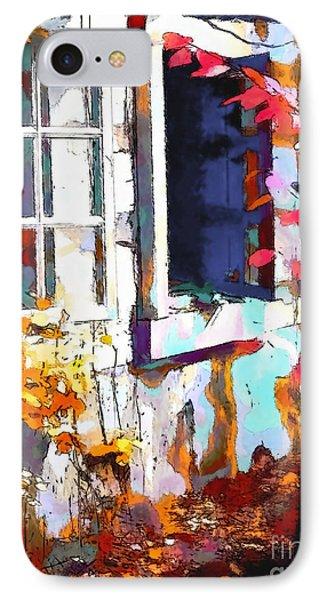 Autumn Breeze Through Open Windows    Windows Phone Case by Barbara D Richards
