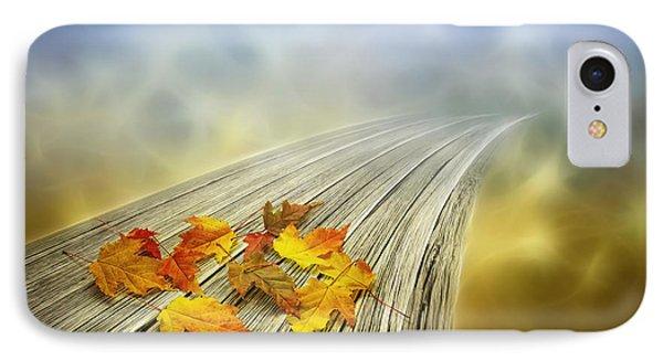 Autumn Bridge IPhone Case by Veikko Suikkanen