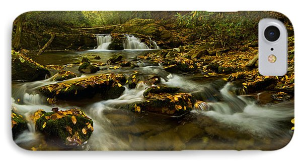 Autumn By The Creek. IPhone Case