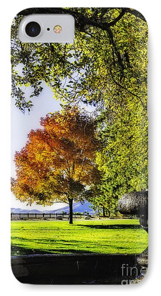 Autumn Canopy IPhone Case by Nancy Marie Ricketts