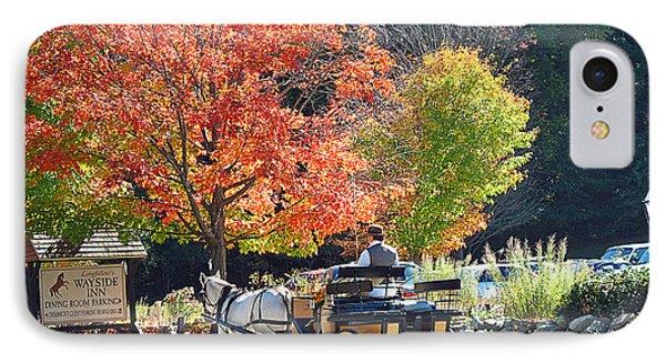 Autumn Carriage Ride Phone Case by Barbara McDevitt